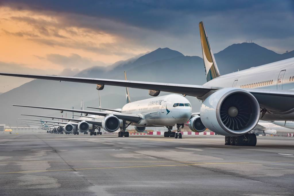 航空股有機會繼貨櫃海運後,成下一個鹹魚翻生的轉機族群。(達志影像)
