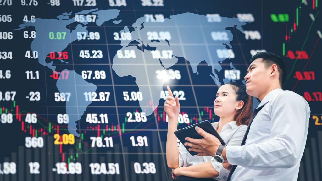 金融期及電子期聯袂開高。(示意圖/達志影像/shutterstock)