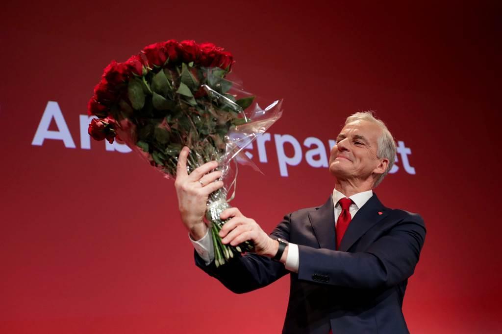 黨魁斯托爾(Jonas Gahr Stoere)料將成為挪威新任總理。
