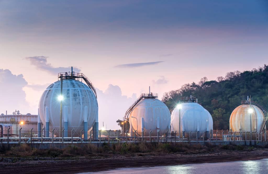 美國天然氣期貨在過去一個月飆漲逾35%,目前已經升抵七年新高紀錄。(示意圖/達志影像/shutterstock)