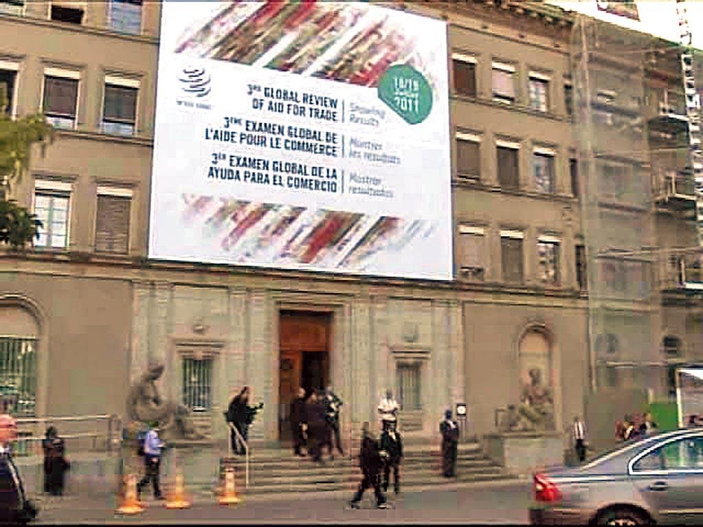 大陸因介殼蟲禁止台灣釋迦、蓮霧輸入,農委會揚言要上告WTO,多位學者專家認為,我方政府宣稱上告WTO的舉動,宣示意味大於實質。圖為WTO位於瑞士總部。(摘自WTO官網)