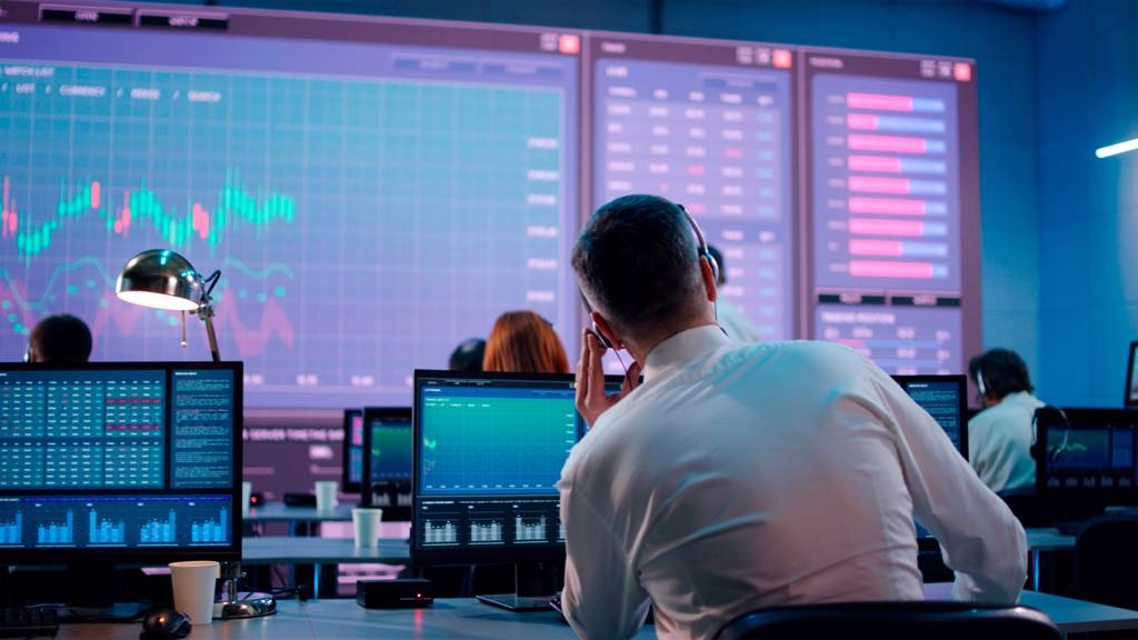 有分析師預測年底前美股有下跌一成的風險,尤其美股有「9月魔咒」。(示意圖/達志影像/shutterstock)