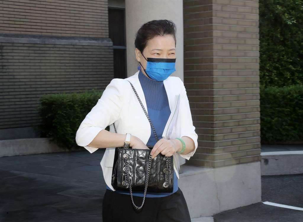 經濟部長王美花23日出席行政院會後記者會,說明台灣已正式遞出加入跨太平洋夥伴全面進步協定(CPTPP)申請。(圖/中央社)
