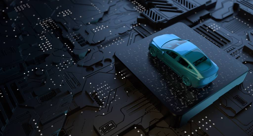 目前許多晶片廠正在興建中,重創汽車產業的晶片短缺危機可望在2022年結束。(示意圖/達志影像/shutterstock)