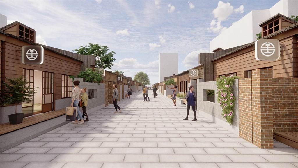 台鐵局職工福利委員會位於台北市的員工宿舍將由美德耐集團進行整修,預計投入3億元,2025年底前完工轉型為文創商圈。(台鐵提供/陳祐誠傳真)