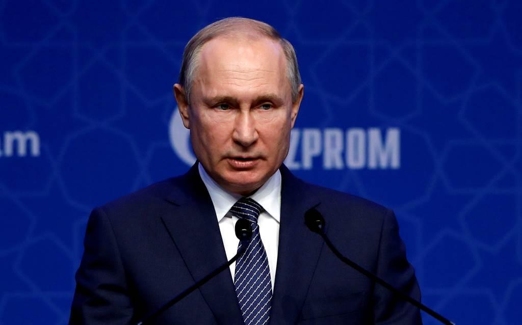 俄羅斯總統蒲亭(Vladimir Putin)。(圖/路透社)