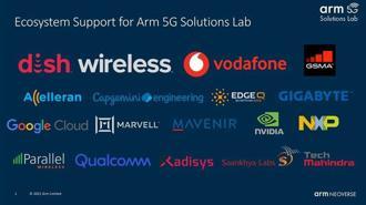 (Arm發表Arm 5G解決方案實驗室,並獲得雲端服務、矽晶圓與硬體供應商、電信營運商、軟體合作夥伴等各界領導企業的支持。圖/業者提供)