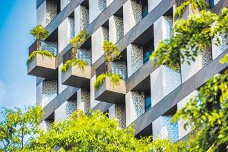 建築環境占全球碳排放量的近40%,在應對氣候變化的危機扮演關鍵角色,必須有重大的改變。圖/本報資料照片